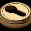 накладка на цилиндр морелли золото