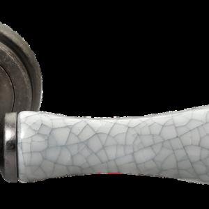 ручка морелли старое античное серебро/серый