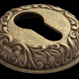 накладка на цилиндр ручетти старая античная бронза
