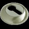 накладка на цилиндр ручетти белый никель/хром