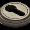 накладка на цилиндр морелли старая античная серебро