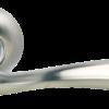 ручка морелли белый никель/полированный хром
